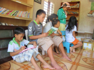 Cham islands - the new library and more kids