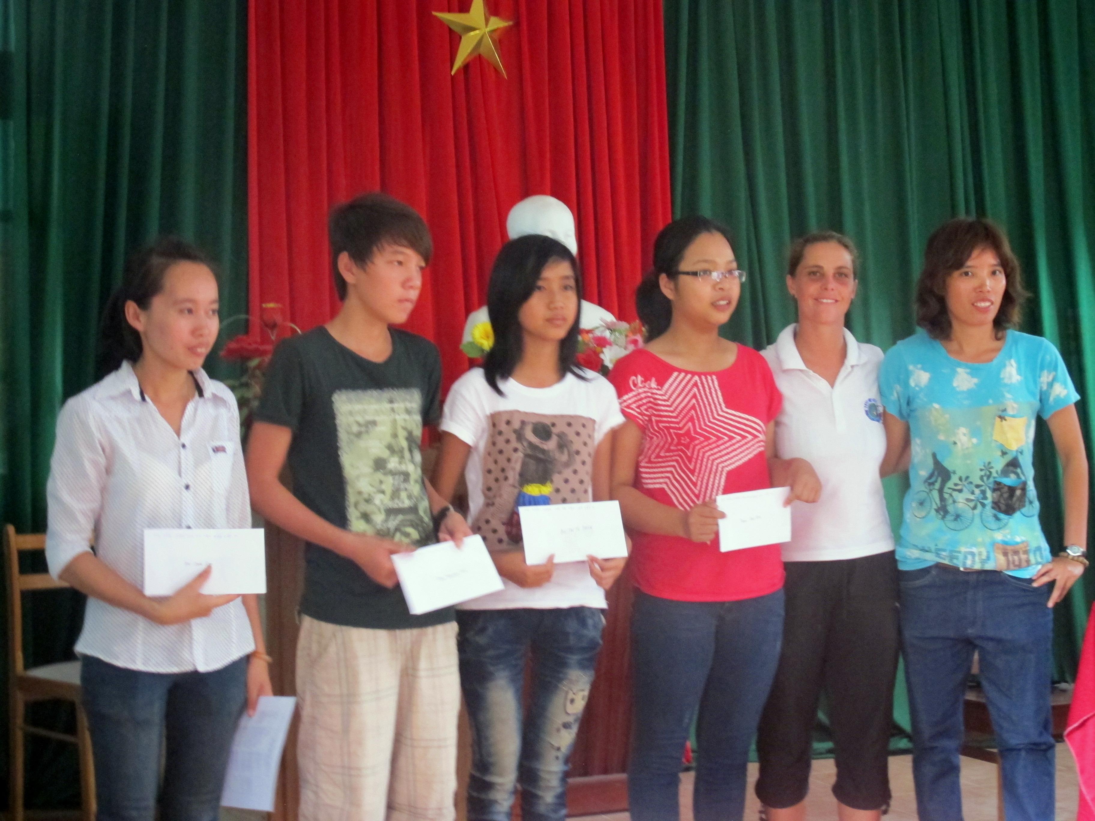 Cham islands scholarship 2012