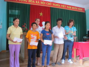 Scholarship program continue on Cham islands