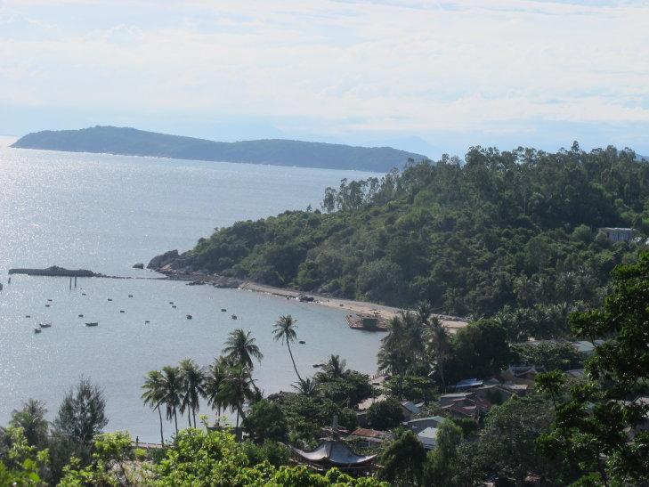 Cham island view