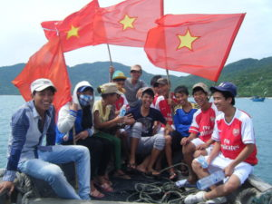 Football tournament on Cham islands, enjoy the Cham islands homestay