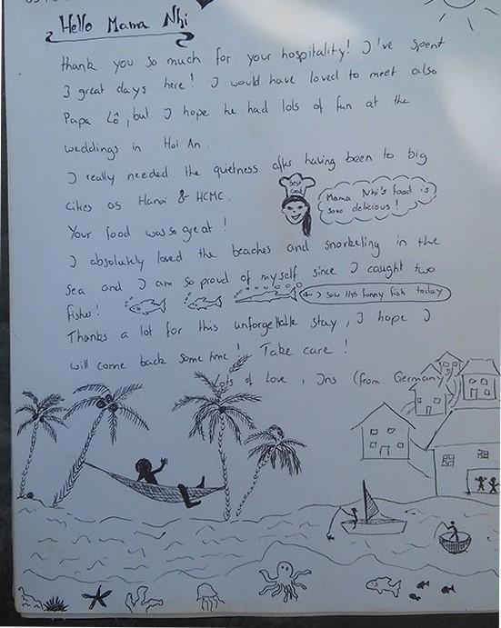 I've spent 3 great days on Cham island